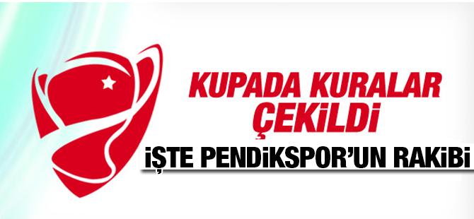 Pendikspor'un Kupadaki Rakibi Belli oldu