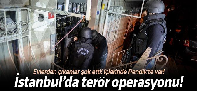 6 İlçede Terör Operasyonu
