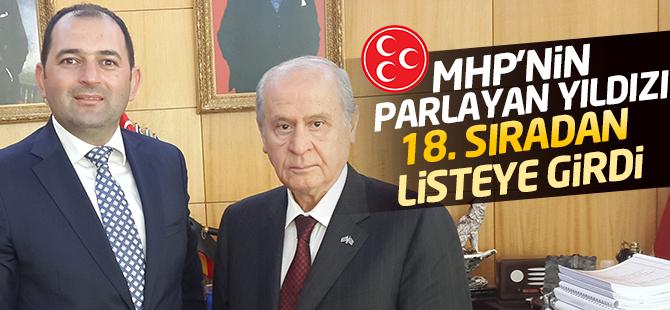 MHP'nin Parlayan Yıldızı 18.Sıradan Listeye Girdi