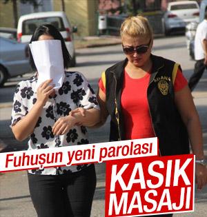 Adana'da kasık masajı operasyonu