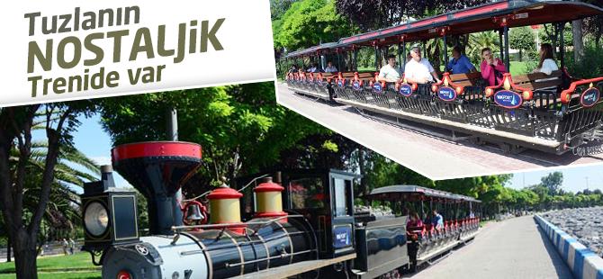 Tuzla'nın Nostaljik Treni de Var