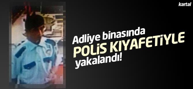 DHKP-C'li Terörist Adliye Binasında Polis Kıyefeti Giyerek Keşif Yaptı