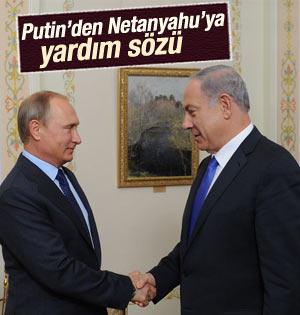 Netanyahu Putin'le görüştü
