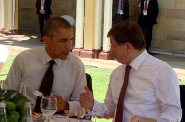 Obama'dan Davutoğlu'na Özel Davet