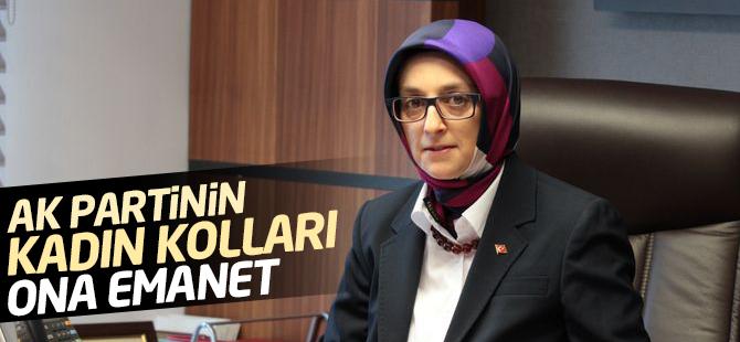 AK Parti'nin yeni kadın kolları başkanı Lütfiye Selva Çam oldu