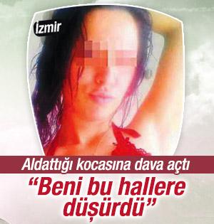 İzmir'de bir kadın aldattığı kocasına dava açtı