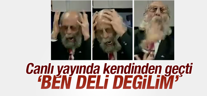 Adanalı Ercan Kont'un cinnet performansı