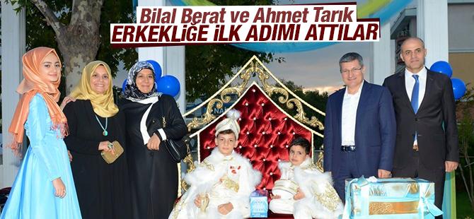 Bilal Berat ve Ahmet Tarık Erkekliğe İlk Adımı Attılar