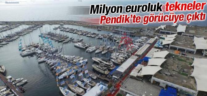 Milyon Euroluk Tekneler Pendik'te Görücüye Çıktı