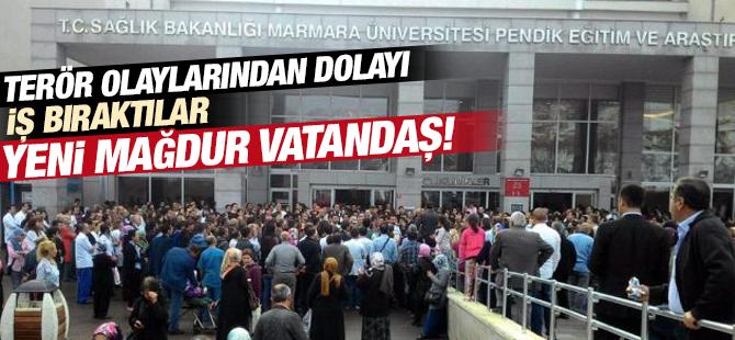 Pendik Marmara Üniversitesi Doktorları İş Bıraktı!