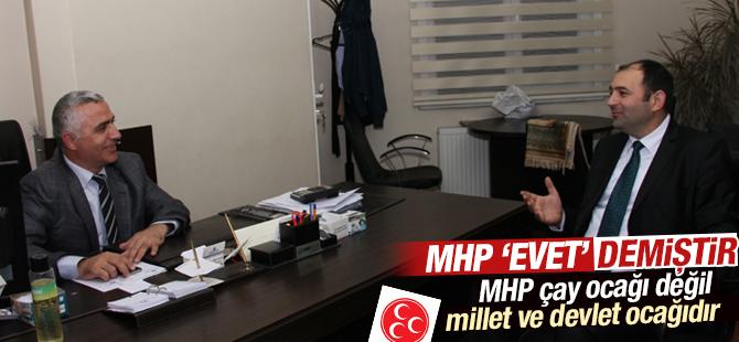 Fatih Eryılmaz: MHP Çay Ocağı değil, Millet ve Devlet Ocağıdır