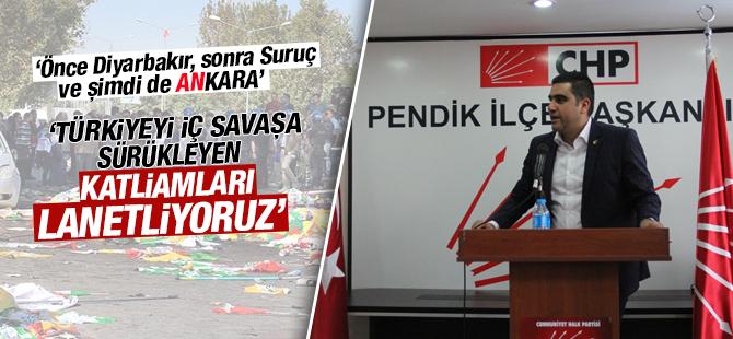 CHP'den Ankara Katliamı Açıklaması