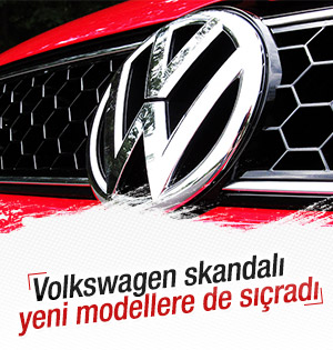 Volkswagen'de emisyon skandalı yeni modellere sıçradı