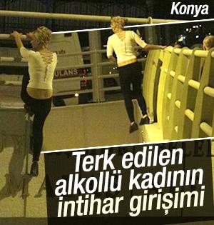 Konya'da Sevgilisi Tarafından Terk Edilen Kadının İntihar Girişimi