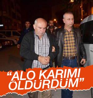 Eskişehir Cezaevi'nde görevli Adam Karısını 20 Yerinden Bıçakladı