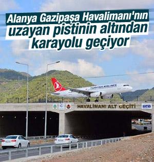Alanya Gazipaşa Havalimanı'nın pisti uzatıldı