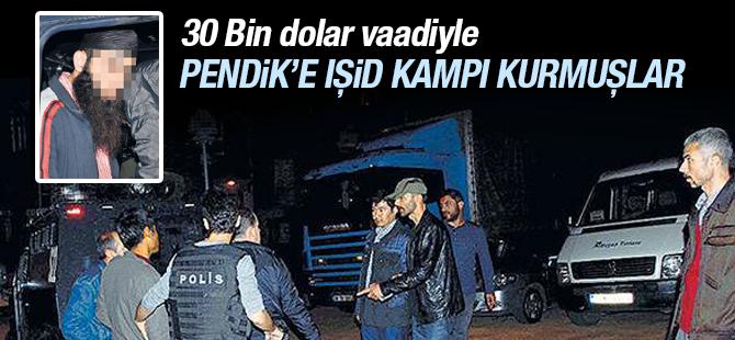 Pendik'te IŞİD Kampı Kurmuşlar