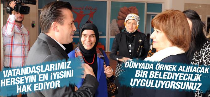 """""""Tuzla'da Dünyada Örnek Alınacak Bir Belediyecilik Uygulanıyor"""""""