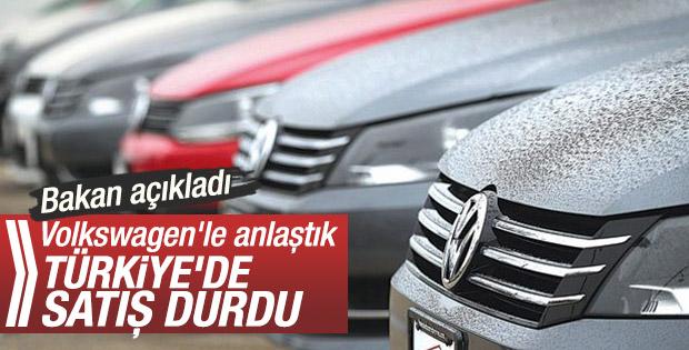 Jetta ve Caddy'in Satışları Türkiye'de Durduruldu
