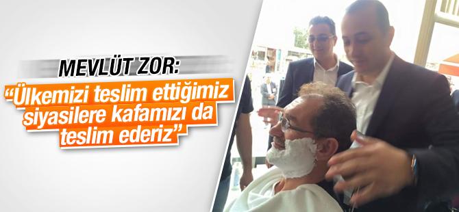 """AK Partili Mevlüt Zor: """"Ülkemizi teslim ettiğimiz siyasilere kafamızı da teslim ederiz """""""