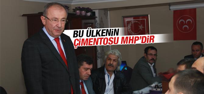 """""""Bu Ülkenin Çimentosu MHP'dir"""""""