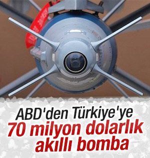 Türkiye'ye Amerika'dan akıllı bomba