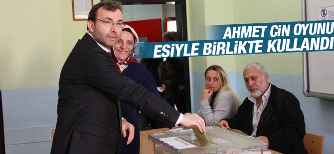 Ak Parti İstanbul SKM Başkanı Ahmet Cin Oyunu Kullandı
