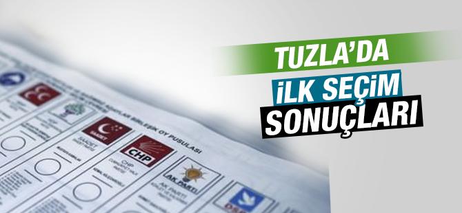 Tuzla'dan İlk Seçim Sonuçları