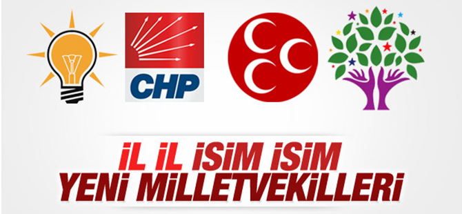 İl, İl Meclise Giren Milletvekili Adayları