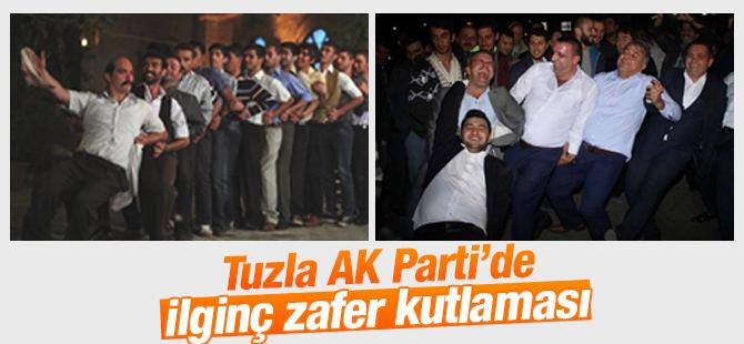 Tuzla AK Parti'de İlginç Zafer Kutlaması
