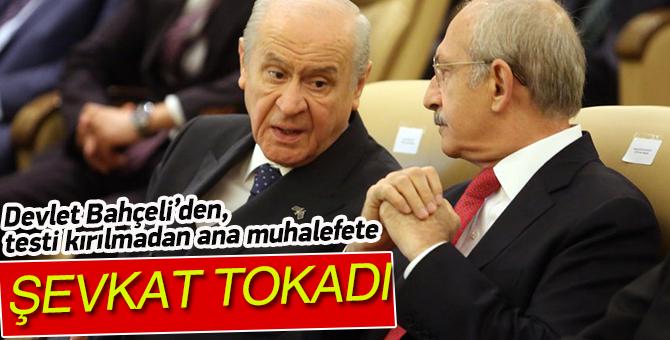 """Devlet Bahçeli'den CHP'ye """"şefkat tokadı"""""""