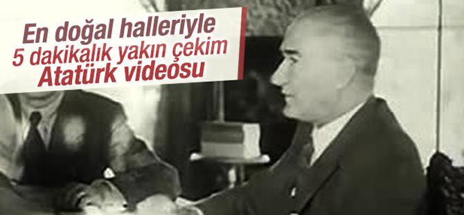 Atatürk'ün Çok Fazla Bilinmeyen Yakın Videoları