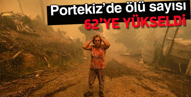 Portekiz'de ölü sayısı 62'ye yükseldi
