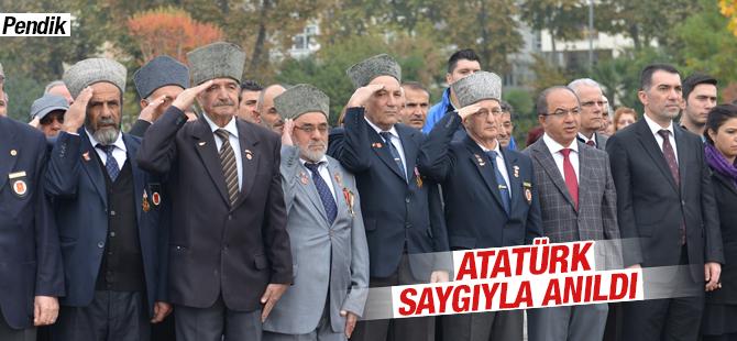 Atatürk Saygı İle Anıldı