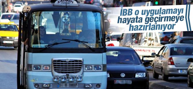 İBB, Dolmuş ve Minibüsler'de Akbil Uygulamasına Hazırlanıyor