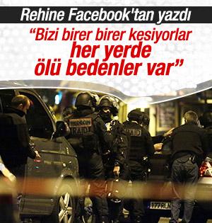 Rehine Facebook'tan yazdı: Bizi birer birer kesiyorlar