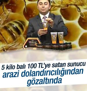 TV'de bal satan sunucu dolandırıcılıktan gözaltına alındı