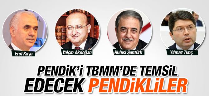 Türkiye Büyük Millet Meclisinde 4 Pendikli