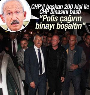 Seyhan Belediye Başkanı 200 Kişilik Grupla CHP binasını bastı
