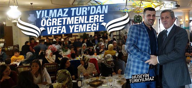 Yılmaz Tur'dan Öğretmenlere Vefa Yemeği