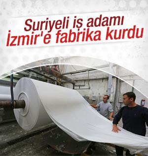 Suriyeli iş adamı İzmir'e fabrika kurdu