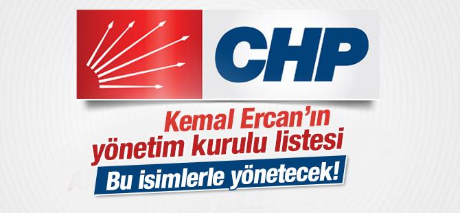 CHP Pendik Yönetim Kurulu Listesi - 2015