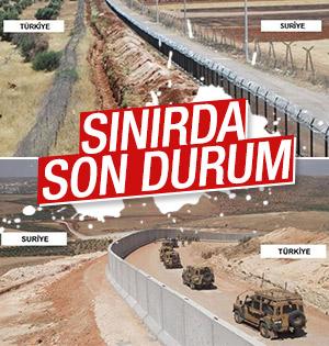911 km'lik sınıra 20 bin asker