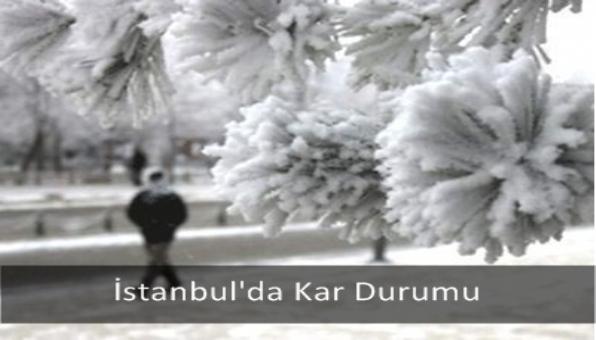 İstanbul´da Kar Durumu
