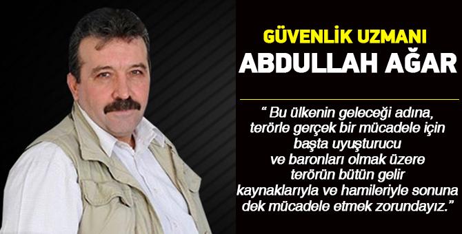 Güvenlik Uzmanı Ağar, PKK'nın uyuşturucu gelirlerini açıkladı