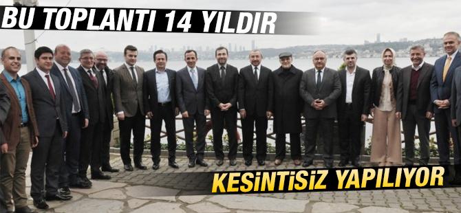 Belediye Başkanlarının Aralık Ayı Toplantısı  Beykoz'da Yapıldı