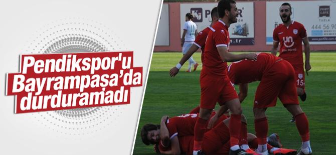 Pendikspor'u Bayrampaşa'da Durduramadı