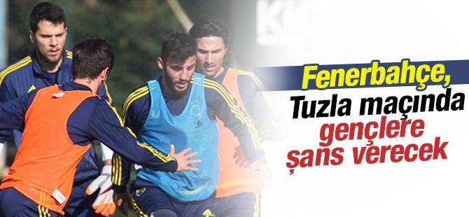 Fenerbahçe, Tuzla Maçında Gençlere Şans Verecek