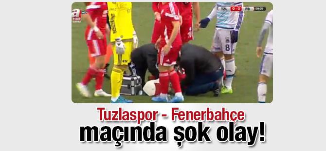 Tuzlaspor - Fenerbahçe maçında şok olay!