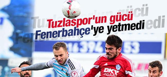 Tuzlaspor'un Gücü Fenerbahçe'ye Yetmedi 1-2